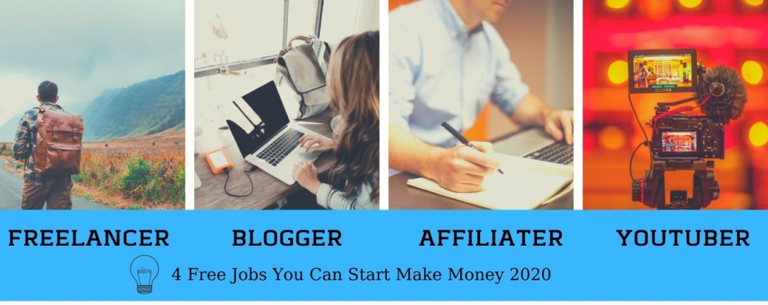 4 jobs you can start make money online